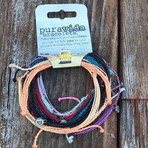 Pura Vida waxes bracelets pack